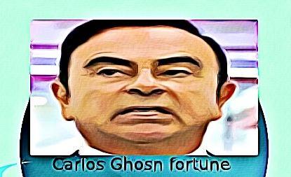 Quelle est la fortune de Carlos Ghosn ?