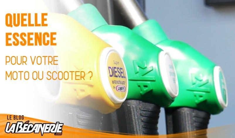 Quelle essence pour une 125 DTR ?